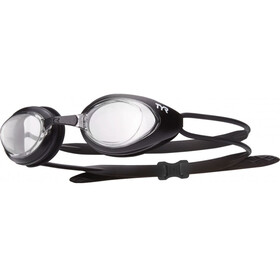 TYR Black Hawk Racing Goggles Men clear/matte black/black